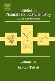 Cover of: Studies in Natural Products Chemistry, Volume 31