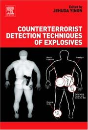 Cover of: Counterterrorist Detection Techniques of Explosives
