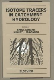 Isotope Tracers in Catchment Hydrology