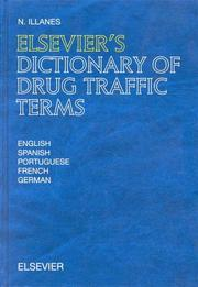 Cover of: Elsevier's dictionary of drug traffic terms