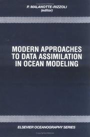 Cover of: Modern approaches to data assimilation in ocean modeling |