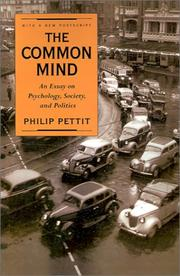 Cover of: The common mind