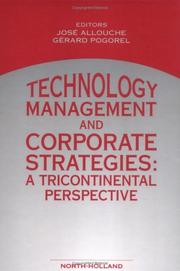 Cover of: Technology Management and Corporate Strategies |