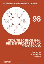 Cover of: Zeolite science 1994