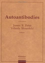 Cover of: Autoantibodies |