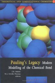 Cover of: Pauling's Legacy (Theoretical and Computational Chemistry) by