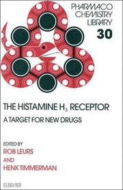 Cover of: The Histamine H<INF>3</INF> Receptor (Pharmacochemistry Library) |