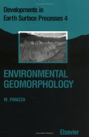 Cover of: Environmental geomorphology