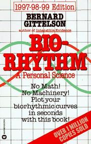 Cover of: Biorhythm | Bernard Gittelson