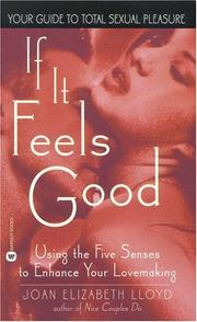 Cover of: If it Feels Good | Joan Elizabeth Lloyd
