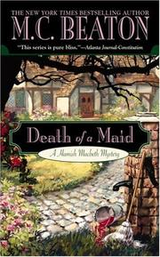 Cover of: Death of a Maid: A Hamish Macbeth Mystery