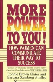 Cover of: More Power to You! | Connie Brown Glaser