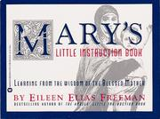 Cover of: Mary's little instruction book