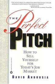 Cover of: The perfect pitch | David Andrusia