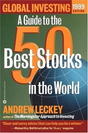 Cover of: Global Investing 1999 Edition