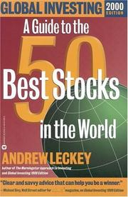 Cover of: Global Investing