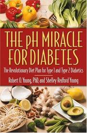 Cover of: The pH Miracle for Diabetes | Robert O. Young