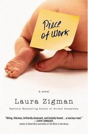 Cover of: Piece of Work | Laura Zigman