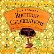 Cover of: Birthday Celebrations | Rick Rodgers