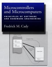 Cover of: Microcontrollers and microcomputers