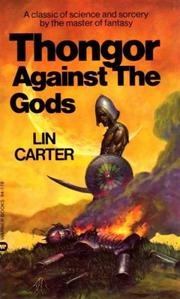 Cover of: Thongor Against the Gods