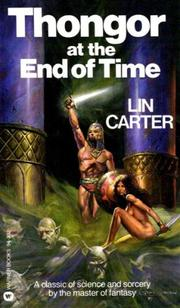 Cover of: Thongor at the end of time