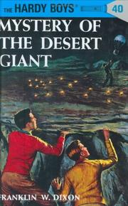 Cover of: Mystery of the Desert Giant