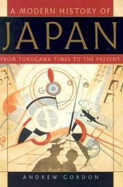 Cover of: A Modern History of Japan | Andrew Gordon