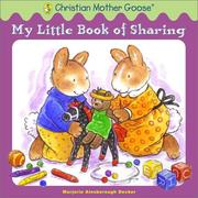 Cover of: My little book of sharing