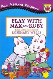 Cover of: Play With Max and Ruby |