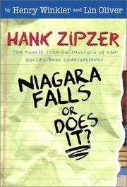 Cover of: Niagara Falls, or does it? | Henry Winkler