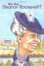 Cover of: Who was Eleanor Roosevelt?