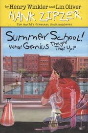 Cover of: Summer school!: what genius thought that up?