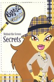 Cover of: Behind-the-scenes secrets | Leslie Goldman