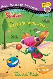 Cover of: After School Rules (Miss Spider)