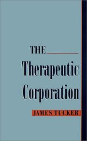 Cover of: The therapeutic corporation