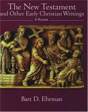Cover of: The New Testament and Other Early Christian Writings: A Reader