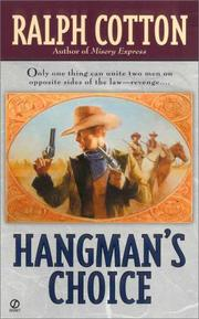 Cover of: Hangman's choice