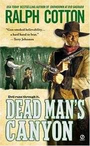 Cover of: Dead man's canyon