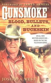 Cover of: Blood, bullets, and buckskin