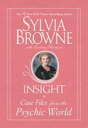 Cover of: Insight | Sylvia Browne