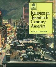 Cover of: Religion in twentieth century America