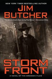 Cover of: Storm Front (The Dresden Files, Book 1) (Dresden Files)