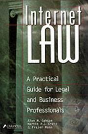 Cover of: Internet law