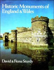Cover of: Historic monuments of England and Wales
