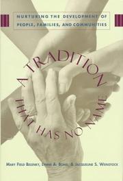 Cover of: A tradition that has no name