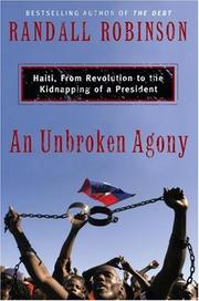 Cover of: An Unbroken Agony