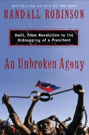 Cover of: Unbroken Agony