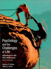 Cover of: Psychology and the challenges of life
