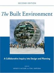 Cover of: The Built Environment |
